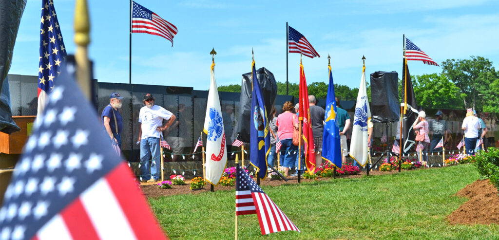 Moving Wall at Jim Dietrich Park Muhlenberg Township