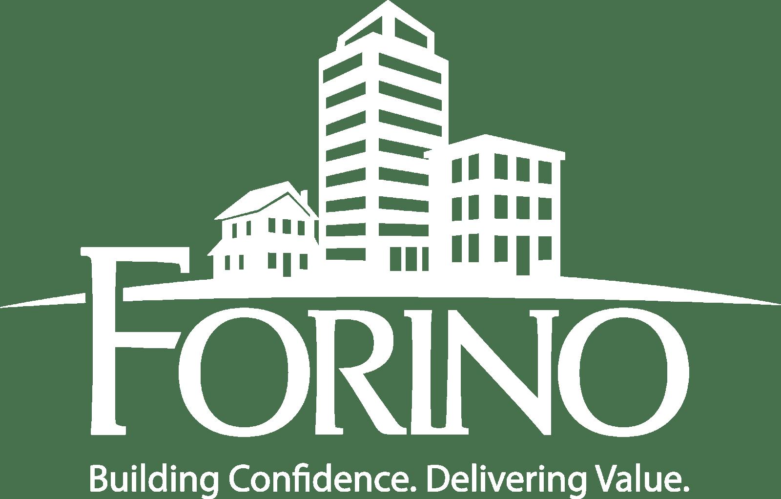 Forino White tagline